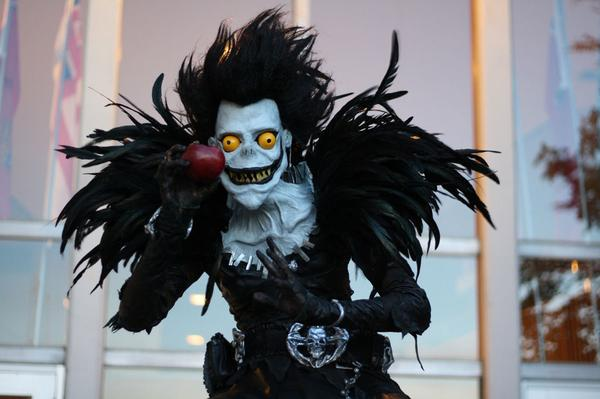 Homemade Death Note Ryuk Costume