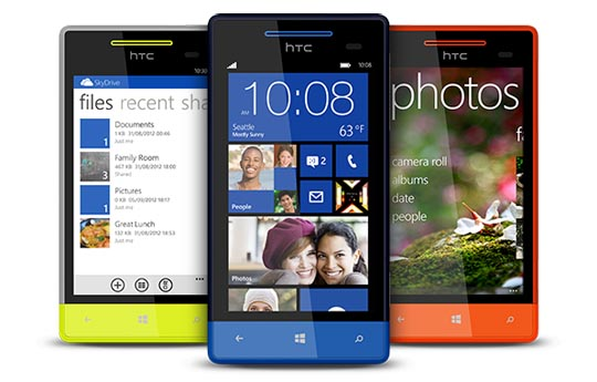 HTC 8S Windows Phone 8 Smartphone