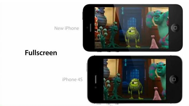 iPhone 5 4-Inch Screen In Action