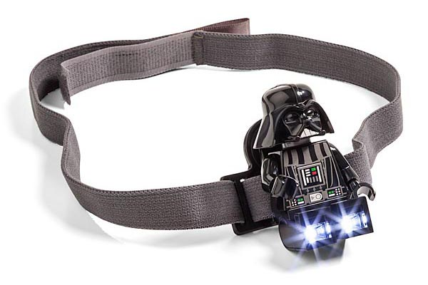 LEGO Star Wars Darth Vader Minifigure Head Light