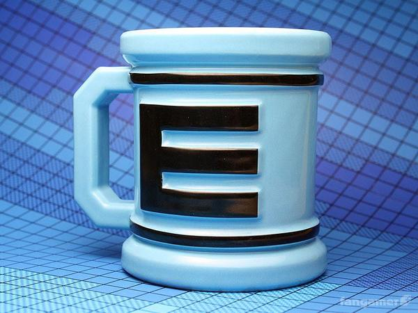 Mega Man Energy Tank Inspired Mug