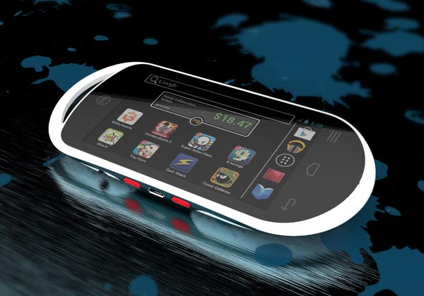 MG The Android Based Portable Gaming System