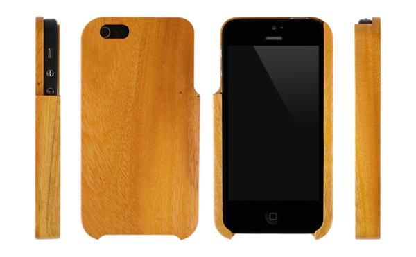 Natural Wood iPhone 5 Case