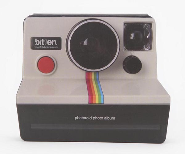 Polaroid Instant Camera Styled Photo Album