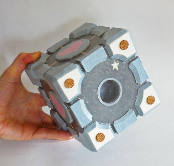 Portal 2 Companion Cube Money Bank