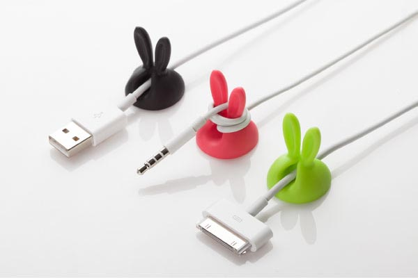 Rabbit Styled Cable Holder