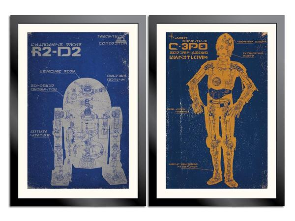 Star Wars Droid Poster Set