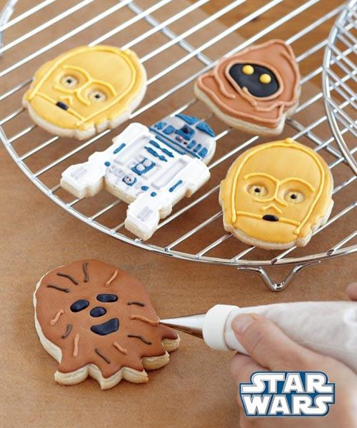 Star Wars Droids and Aliens Cookie Cutter Set