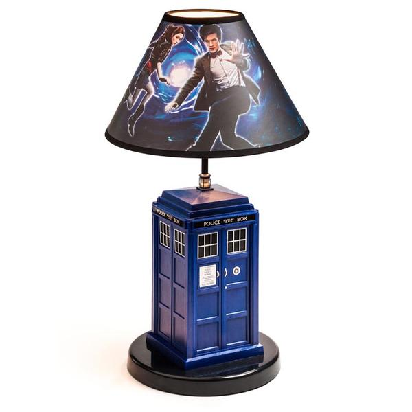 The Doctor Who TARDIS Table Lamp