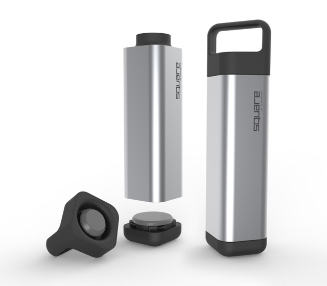The Square Water Bottle