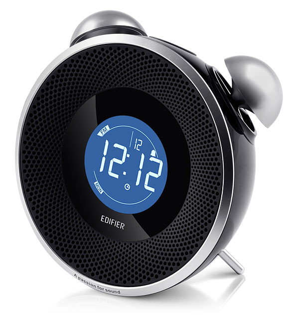 Tick Tok Retro Alarm Clock Styled Wireless Speaker