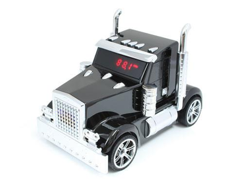 Truck Head Shaped Music Player with FM Radio