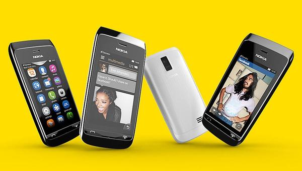 Nokia Announced Asha 308 and Asha 309 Cell Phones