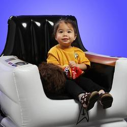 Star Trek Inflatable Captain Chair