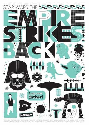 Star Wars Trilogy Poster Set
