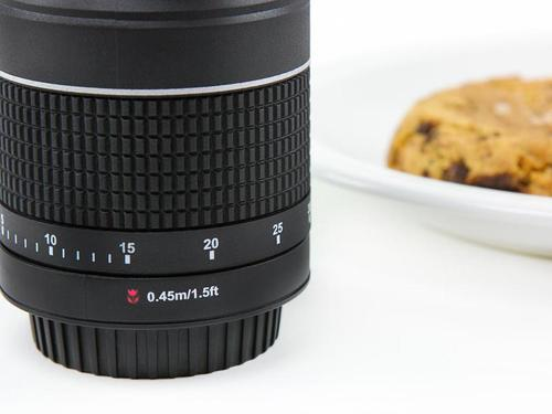 The Camera Lens Shaped Kitchen Timer
