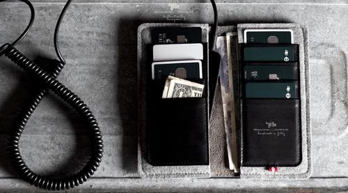 Hard Graft Fold Plus Phone Wallet