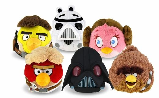 Angry Birds Star Wars Plush Toys