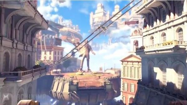 BioShock Infinite Game Trailer Beast of America Released