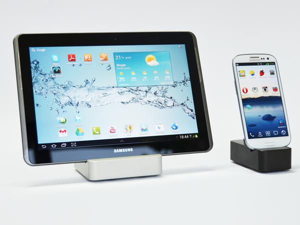 CompleteDock Charging Station for iPad, iPhone 5 and More