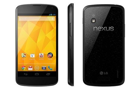 Google Nexus 4 Android Phone Announced