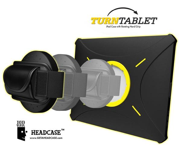 Headcase TurnTablet iPad 3 Case with Rotating Hand Grip