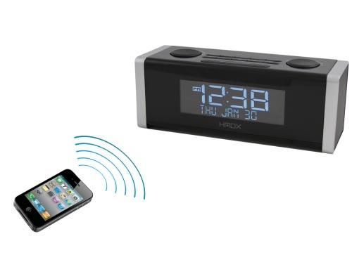 Homedics Cube Bluetooth Wireless Alarm Clock