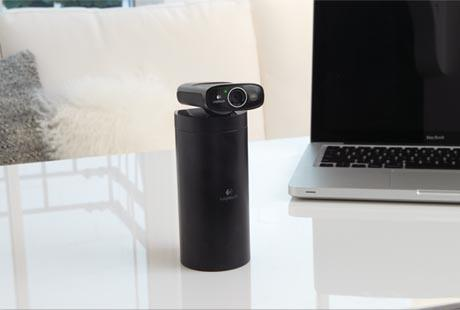 Logitech Broadcaster WiFi Wireless Webcam