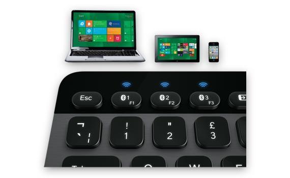 Logitech K810 Bluetooth Illuminated Wireless Keyboard