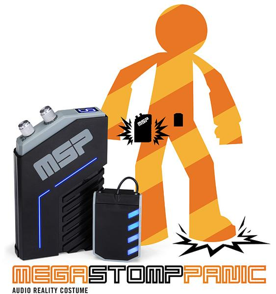 Mega Stomp Panic A Perfect Companion for Your Costume