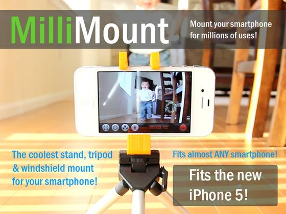 MilliMount Multi Functional Phone Stand