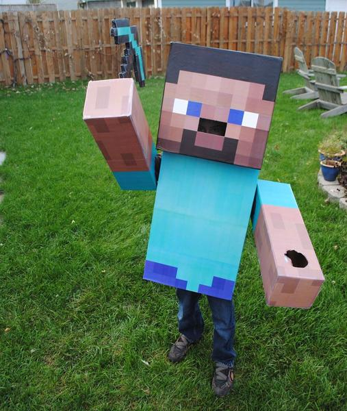 Minecraft Inspired Costume