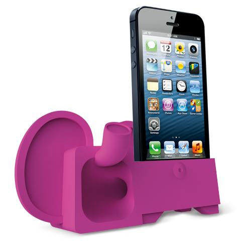 Ozaki O!Music Zoo Dock Speaker for iPhone 5