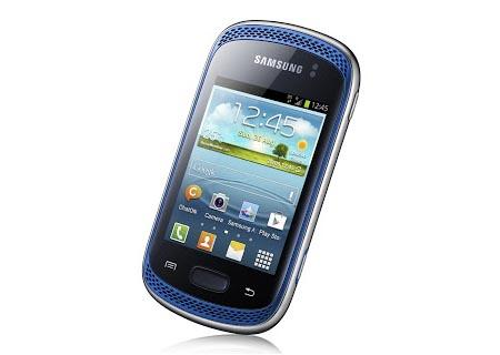 Samsung Galaxy Music Android Phone Announced