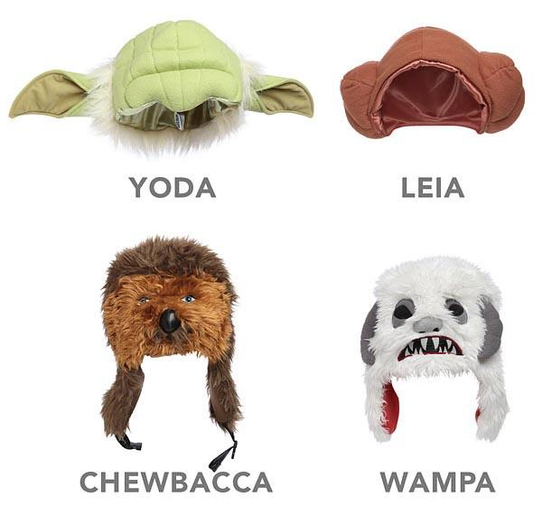 Star Wars Character Plush Hats