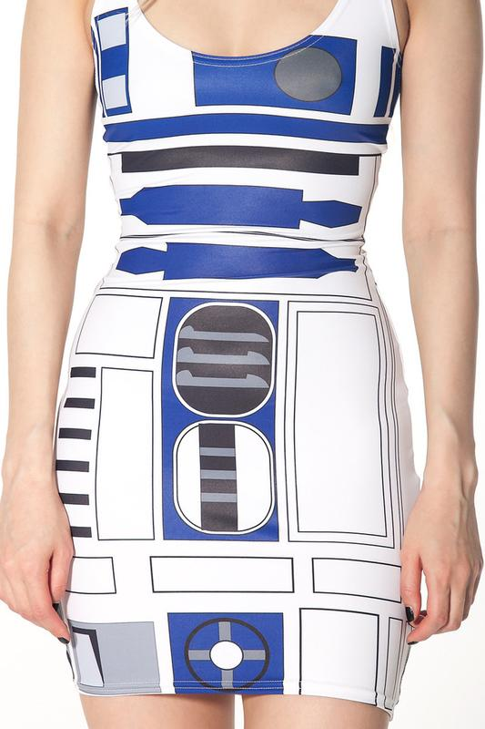 Star Wars R2-D2 Styled Artoo Dress