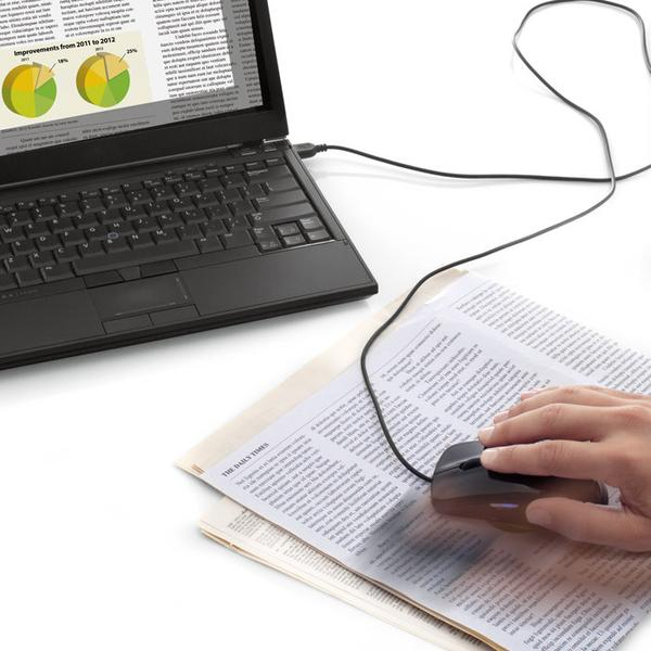 The Computer Mouse Doubles As Portable Scanner