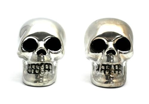 The Skull Shaped Salt & Pepper Shakers