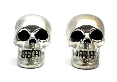 The Skull Shaped Salt & Pepper Shakers