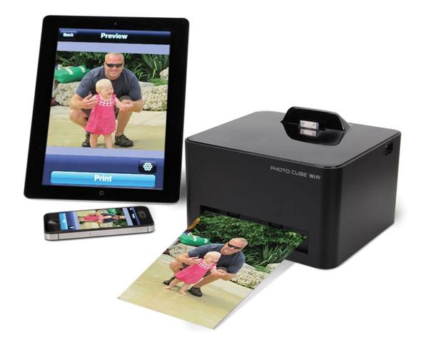 The Wireless Photo Printer for Smartphone
