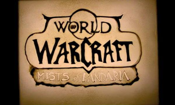World of Warcraft: Mists of Pandaria Sand Animation