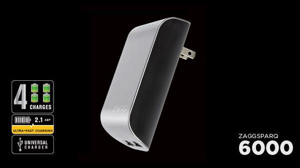 ZAGG ZAGGsparq 6000 Portable Backup Battery
