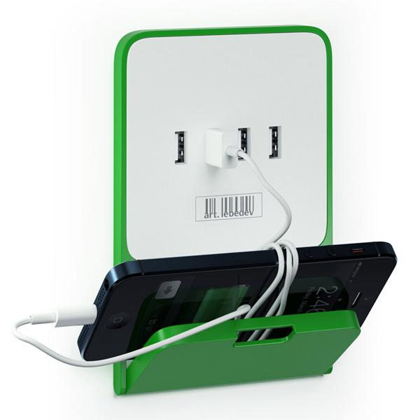 Zaryadkus USB Wall Outlet with Integrated