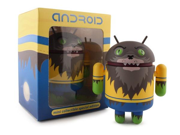 Android Collectible Mini Figure Werewolf Special Edition