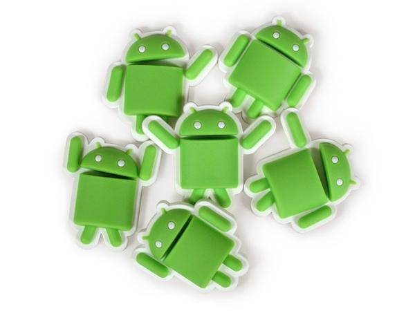 Android Droid Fridge Magnet Set