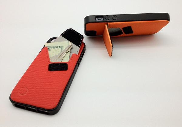 Arctic Wallet Stand iPhone 5 Case