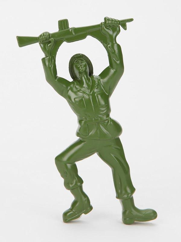 Army Man Shaped Bottle Opener