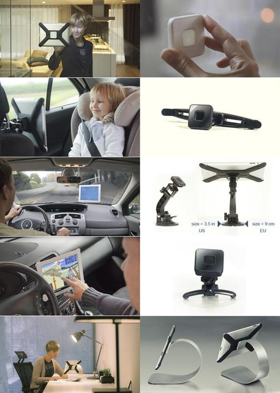 Boomerang All-In-One iPad Stand & Mount