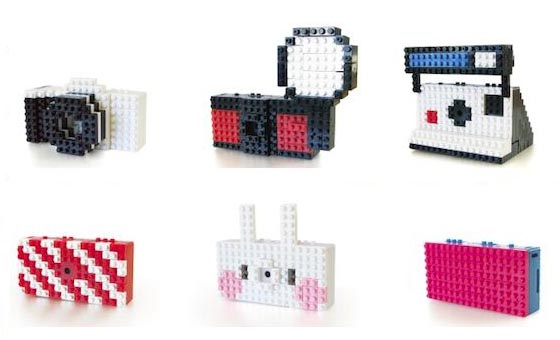 Customizable Nanoblock Toy Digital Mini Camera