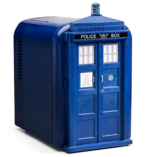 Doctor Who TARDIS Shaped Mini Fridge
